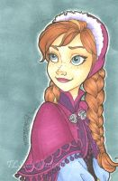 Sketch Card: Anna by TLSeely