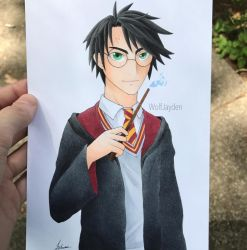 Harry Potter by WolfJayden