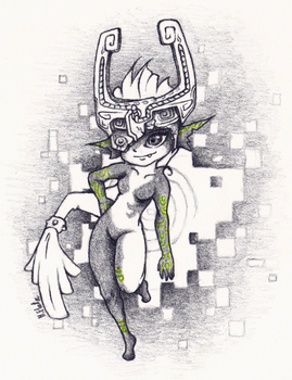 Twilight Midna by Mary1517