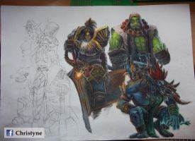 World of Warcraft by Christyne01