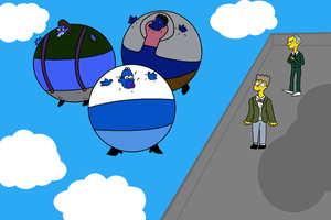 Blueberry Simpsons Request by inflationhub