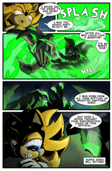 Super Sonic: The Worst Fear Page 5 by Okida