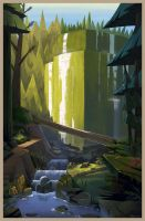 Proxy Falls by doingwell