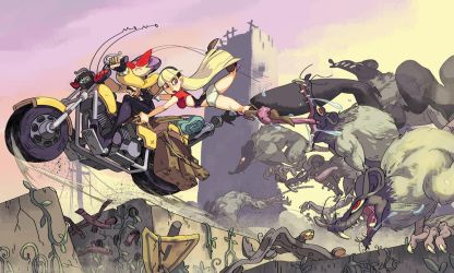Post Apocalyptic Rat Race by oh8