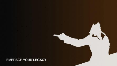 embrace YOUR LEGACY wallpaper by sirarles
