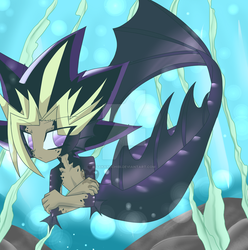 19 out 100 drawing challenge ( Encounter Atem) by sakaruchibi