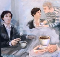 Johnlock Teacup by VladaTee