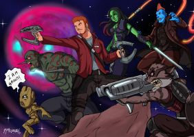 Guardians of the Galaxy 2 Fanart by JazylH