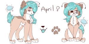 April ref by CutieCakie