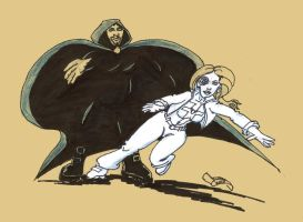 SKETCH JAM CLOAK AND DAGGER by Luber-Lord