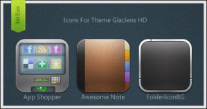 Extra Glaciens HD Icons Pack 4 by Mr-Evo