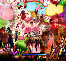One Piece Chapter 860 TEA PARTY COLORS MAMA by Amanomoon