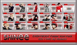 SHINee Everybody Folder Icon Pack by Rizzie23