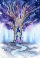 Lady of the Tree by LucieOn