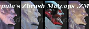 Zbrush MatCap .ZMT Materials Download by Shapula