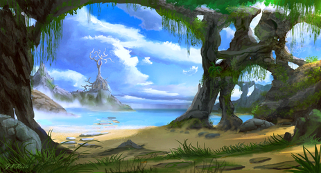 Tempest Cove by JKRoots