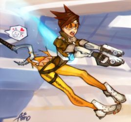 Overwatch-Tracer by Asmo-dA