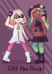 Off the hook! by Link-Pikachu