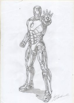Iron man - Commision by IMPOSI