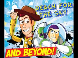 Toy Story- Reach for the Sky and Beyond by xeternalflamebryx