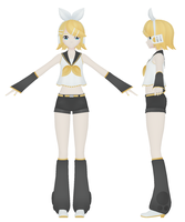 kagamine rin wip by MMD-MCL