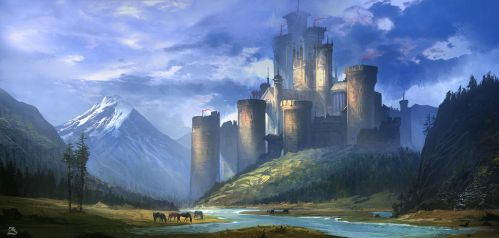 Castle in the Valley_C1 by SergeyZabelin