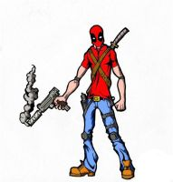 Deadpool by Rodendron