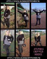Stepha's Cropped Hoodie by morbid-stitches