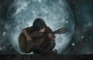 the Song of the Moon by LeeKent