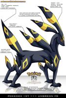 Pokedex 197 - Umbreon FR
