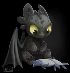 Another Toothless by Kam-Fox
