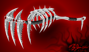 Scythe of Pain by Xzeromus