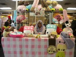 Kotoricon 2012 FSC Booth by FluffSugarCafe