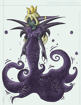 Commission - Shadow Cackletta by Genolover