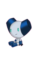 Robotboy is sitting by Klauuu94