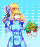 Samus by Zeighous