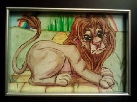 Cowardly Lion-Wizard of Oz by TheGrumpyFrog