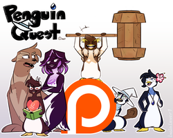 Penguin Quest on Patreon by xLugiaLuver1x