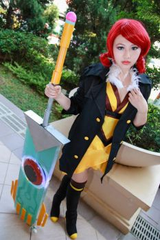 Transistor - Red by Xeno-Photography