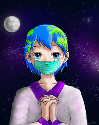 Protecc Earth chan by 7anbuKakashi