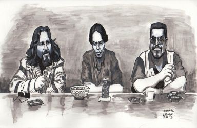 The Big Lebowski 7-9-2013 by myconius