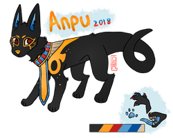Anpu's Ref 2018 by spriingpetal