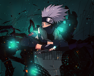 Kakashi Hatake Signature [Box Style] by JoshPattenDesigns