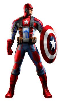 Cap. America:New Uniform by Scorpion44