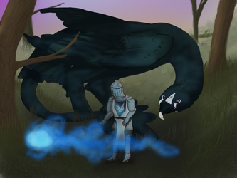 Silmorla (wisp quest) - It's over there! by agrizian