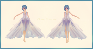 [MMD] Pretty Cosmos Tide Dress Edit Preview (WIP) by AyaneFoxey
