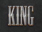 Paladin / King Text Effect Layer Style by Giallo86