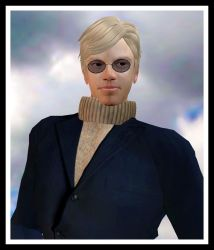 My avatar in Second Life, PCE Graves by pcellis