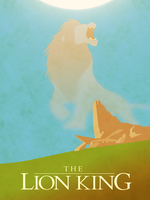 The Lion King - Minimalist Poster by EchoLeader