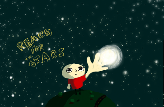 Reach for the Stars by VeryHapppyPanda